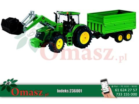 Zabawka Traktor John Deere 7930 z przyczepą