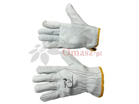 Rękawice Kapro obustronnie skórzane rozm. 9