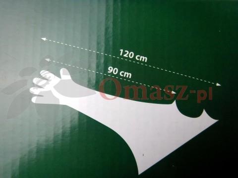 Rękawice weterynaryjne z ochraniaczem