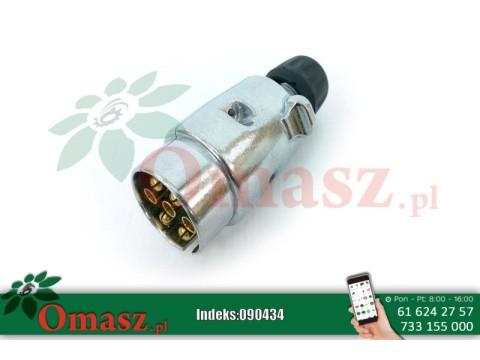 Wtyczka elektryczna 7PIN 12V aluminiowa