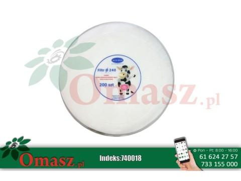 Filtry krążkowe Alfa Milk fi 240 200szt.