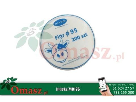 Filtry krążkowe Alfa Milk fi 95 100szt.