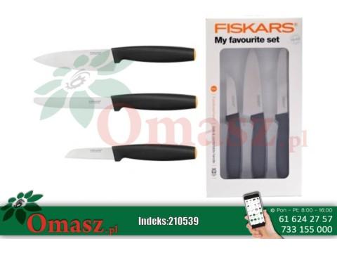 Nóż Fiskars zestaw do owoców i warzyw