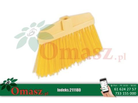 Miotła nylon Yellow z kijem