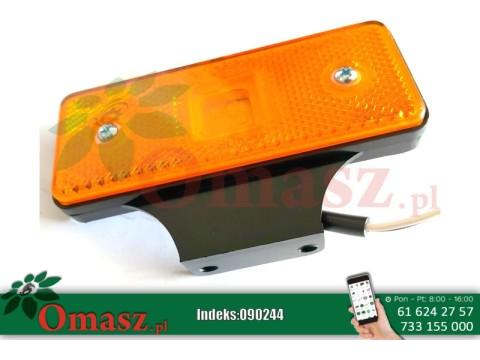 Lampa obrysowa diod.pomarańczowa LD161 prostokątna z wieszakiem