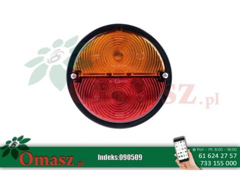 Lampa tylna L plastyk 330 z podświetleniem