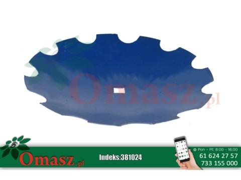 Talerz zębaty 510 Talerzówka gr.4mm