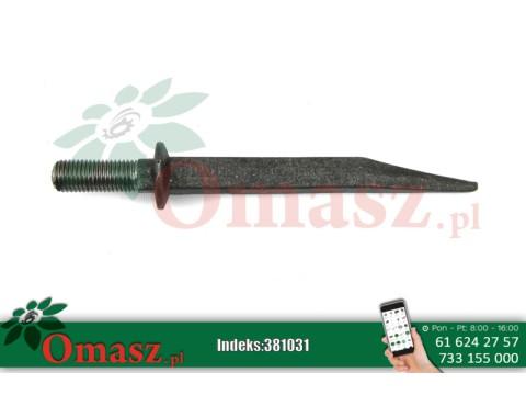 Ząb brony P20*210/M20 prosty AR140169