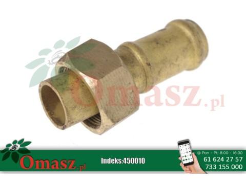 Złącze mosiężne końcówki ssącej kolektora pompy opryskiwacza *25 BS-25