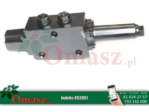 Zawór hydrauliczny obrotowy sterowany linką Z562