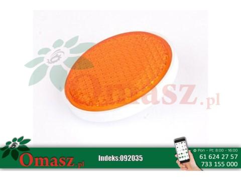 Odblask okrągły pomarańczowy