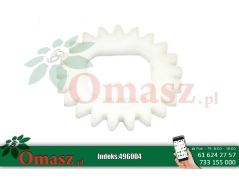 Koło zębate owijarki, Z-21, otwór kwadrat
