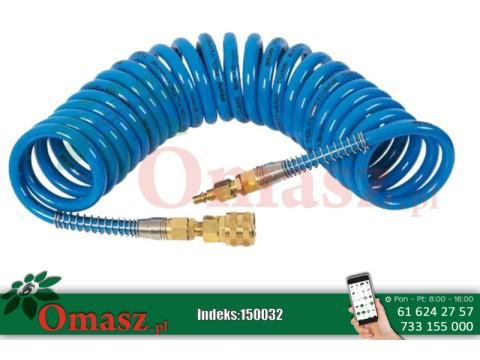 Wąż spiralny 10m silikonowy